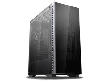 купить Case ATX Deepcool MATREXX 50, w/o PSU, Rear 1x120, Dual 4mm Tempered Glass, USB3.0, Black в Кишинёве