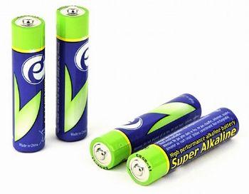 Gembird  Alcaline Battery AAA, 4pcs, Blister pack