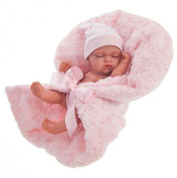 Кукла младенец Луни с одеяльцем 26 см Код 4074