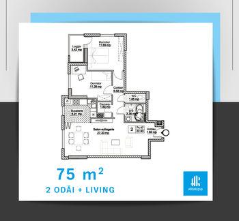 купить 2 комнатная квартира в Кишинёве