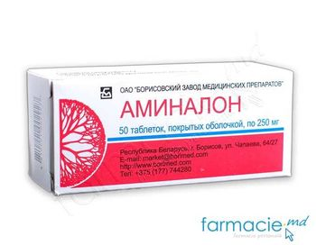купить Aminalon comp. 250mg N50 (Borisov) в Кишинёве