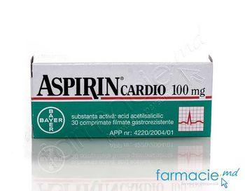 купить Aspirin® Cardio comp. film.100 mg N10x3 в Кишинёве