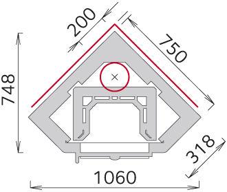 Печь-камин - Tulikivi KTU1010/92