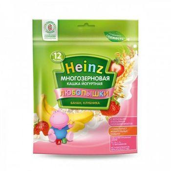 купить Heinz Любопышки каша многозерновая йогуртная банан, клубника, 12+мес. 200г в Кишинёве