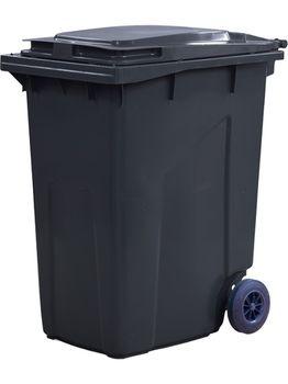 360L, Kонтейнеры для мусора, черный