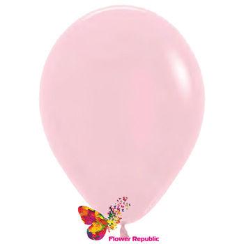 купить Латексный воздушный шар Нежно- Розовый -30 см в Кишинёве
