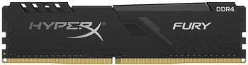 0,8 ГБ DDR4-3000 МГц Kingston HyperX FURY (HX430C15FB3 / 8), CL15-17-17, 1,35 В, Intel XMP 2.0, черный
