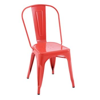 купить Металлическое кресло 530x480x1250 мм, красное (82919) в Кишинёве