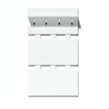 Система Модуль Вешалка 900 мм №10 белый ясень