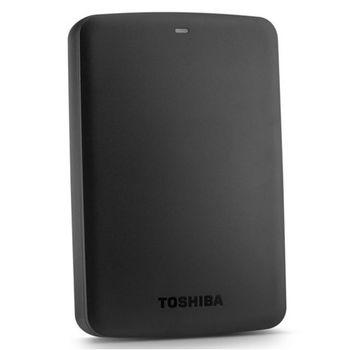 """2.5"""" External HDD 2.0TB (USB3.0)  Toshiba """"Canvio Basics"""" HDTB320EK3CA, Black"""