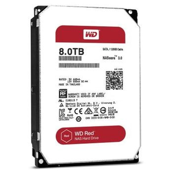 "3.5"" HDD 8.0TB  Western Digital WD81PURZ Caviar® Purple™, IntelliPower, 256MB, SATAIII"