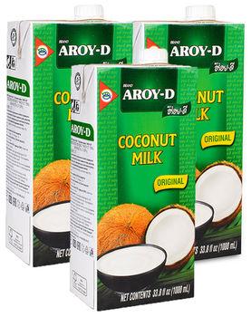 Кокосовое молоко Aroy-D 70%, 1000 мл