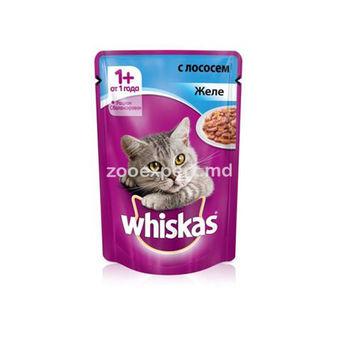 cumpără Whiskas jeleu cu somon în Chișinău