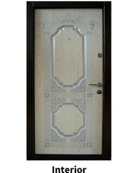 Дверь металлическая Diplomat DT201 960x2050x70 мм дуб