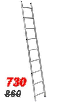 купить ASCARA. VHR TK 1x9(2,42м)   Лестница Алюм.  односторонняя в Кишинёве