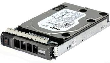 Dell 300GB 10K RPM SAS 2.5in Hot-plug Hard Drive,3.5in HYB CARR,CusKit