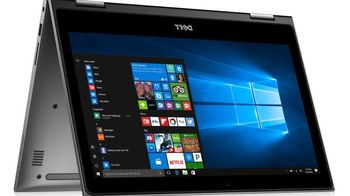 """DELL Inspiron 13 5000 Gray (5379) 2-in-1 Tablet PC, 13.3"""" IPS TOUCH FullHD ((Intel® Quad Core™ i7-8550U 1.80-4.00GHz, 16Gb DDR4 RAM, 512GB SSD, Intel® UHD Graphics 620,CardReader, WiFi-AC/BT4.0, 3cell, 720p HD Webcam, Backlit KB, RUS,W10HE64,1.6 kg)"""