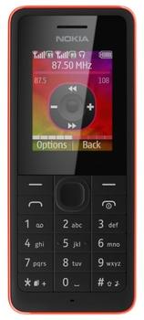 Nokia 107 Dual Sim (Red)