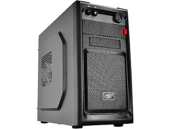 Case Miditower Deepcool SMARTER Micro-ATX Black no PSU, 1xUSB3.0/1xUSB2.0/Audiox1/Micx1, Cooling (optional) Rear: 1x120/80mm; Front: 1x120/90/80mm; side: 1x120mm (carcasa/корпус)