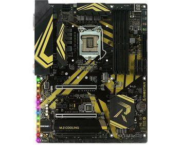 Biostar RACING Z370GT6, Socket 1151, Intel® Z370 / (8th Gen CPU), Dual 4xDDR4-3866, CPU Intel graphics, DVI, HDMI, 3xPCIe X16, 6xSATA3, RAID, 2xM.2 slot, ALC1220 HDA, GbE LAN, 2xUSB3.1 Gen2, 1xUSB3.1/Type-C, 4xUSB3.1, M.2 Cooling, Vivid LED DJ, ATX