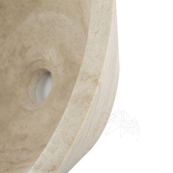 купить Травертин Классический раковина RS-8, 42 x 15 см в Кишинёве