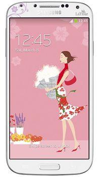 Samsung I9500 White La Fleur Galaxy S4 16GB