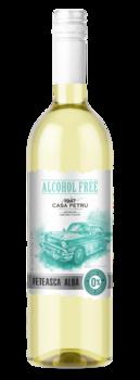 купить Вино безалкогольное Casa Petru Alcohol Free Feteasca Alba в Кишинёве