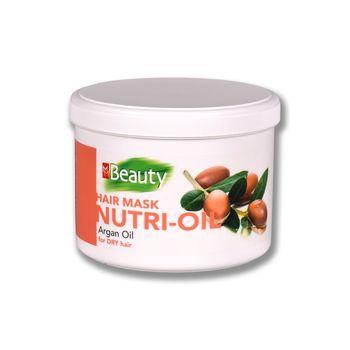Mască pentru păr uscat, SOLVEX MMBeauty, 500 ml., NUTRI-OIL - nutriție, cu ulei de argan