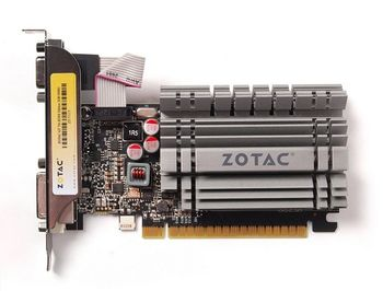 ZOTAC GeForce GT730 Zone Edition 2GB DDR3, 64bit, 902/1600Mhz, Low Profile, HDCP, DVI, HDMI