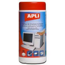 APLI Moist Cleaning Cloths, 100 pcs
