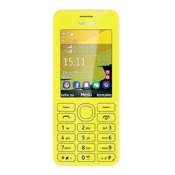 Nokia 206 2 SIM (DUAL) Yellow