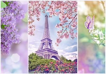 "10409 Trefl Puzzles-""1000 Romantic"" - Spring in Paris"