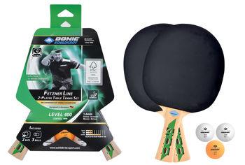 Набор для настольного тенниса (2 ракетки + 3 мяча) 1.6 мм Donic Fetzner 400 788468 (5388)