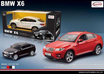 Rastar Радиоуправляемая машина BMW X6 (1-24)