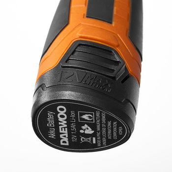 Набор Daewoo DAA 1220Li (12V 1.5 Ah)