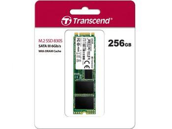 .M.2 SATA SSD 256 ГБ Transcend «TS256GMTS830S» [80 мм, R / W: 560/510 МБ / с, 85/85 K IOPS, SM2258, 3DTLC]