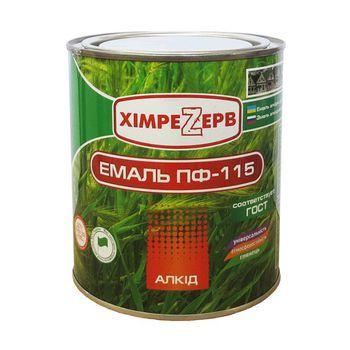 Химрезерв Эмаль ПФ-115 Белая 0.9кг