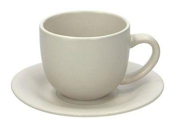 Чашка для чая 200ml с блюдцем Rustical Beige