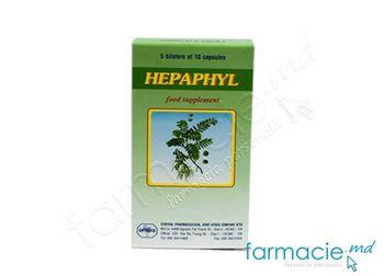 купить Hepaphyl caps. N50 (TVA20%) в Кишинёве