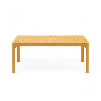 Стол кофейный Nardi NET TABLE 100 SENAPE 40064.56.000 (Стол кофейный для сада лежака террасы балкон)