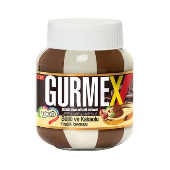 Шоколадно-молочная паста с лесными орехами Gurmex 350г