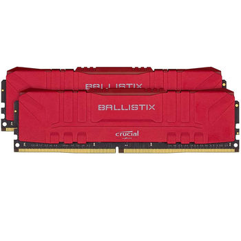 Оперативная память 16GB DDR4 Dual-Channel Kit Crucial Ballistix Red BL2K8G26C16U4R 16GB (2x8GB) DDR4 PC4-21300 2666MHz CL16, Retail (memorie/память)