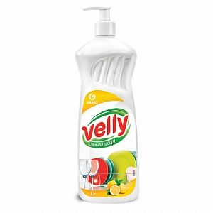 Моющее средство для мытья посуды Velly 1л лимон