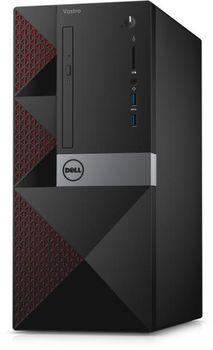 DELL Vostro 3668 MT lntel® Core® i3-7100 (Dual Core, 3.9GHz, 3MB), 4GB DDR4 RAM, 128GB SSD, DVDRW, Intel® HD 630 Graphics, Wi-Fi/BT4.0, 240W PSU, USB Mouse&Keyboard, Ubuntu 16.04, Black