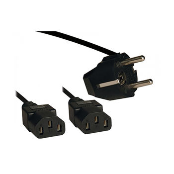 E84068 Y-Power Connection Cable 1.8 m (кабель питания 1 вилка --> 2 выхода 1,8м) (cablu alimentare/кабель питания)