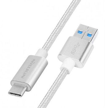 купить Nillkin Elite Type-C USB cable, Silver в Кишинёве