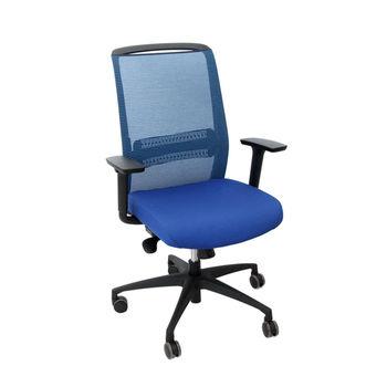cumpără Scaun de birou cu spate din plasă albastră, şezut albastru cu spătar înalt în Chișinău