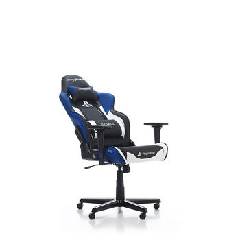 cumpără Gaming Chairs DXRacer Racing GC-R90-INWZ1 PlayStation merch, Indigo/Black/White în Chișinău