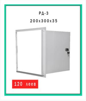 Дверца ревизионная металлическая РД-3