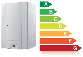 cumpără Centrala termica murala Arca Pixelfast B 25 F, 25.3 kW, boiler 60 L în Chișinău